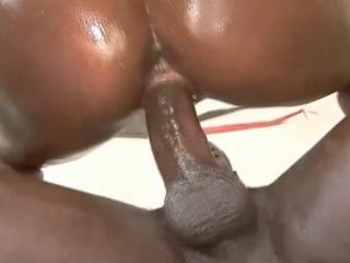 Big Black Daddys Cock Heavily fucked by Brown Sugar